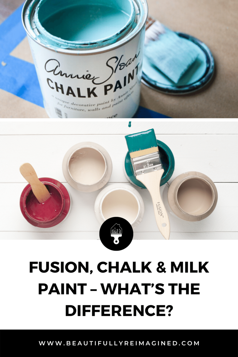 Fusion, Chalk & Milk Paint – What's the difference?