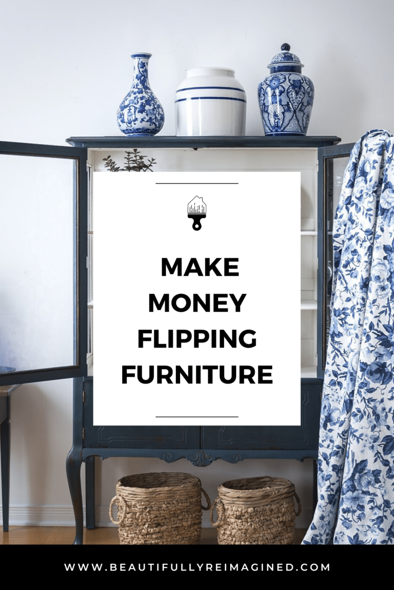Do you want to make money Flipping Furniture?