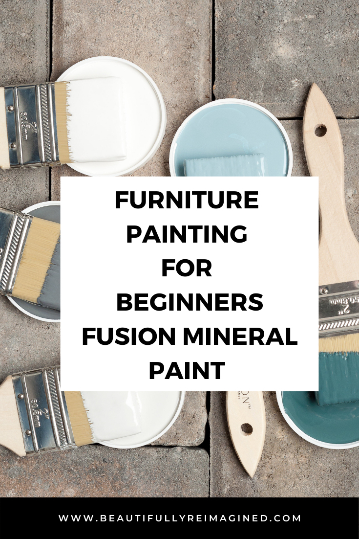 Furniture Painting for Beginners using Fusion Mineral Paint